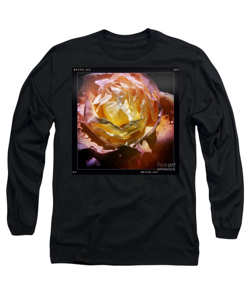 Glistening Rose Long Sleeve T-Shirt
