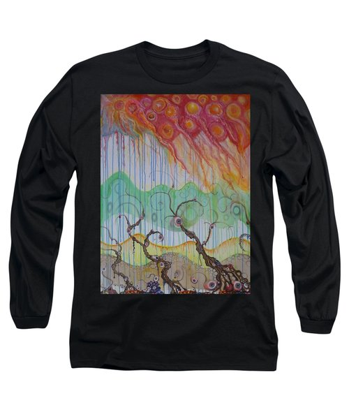 Climate Change, The Final Chapter Long Sleeve T-Shirt by Douglas Fromm