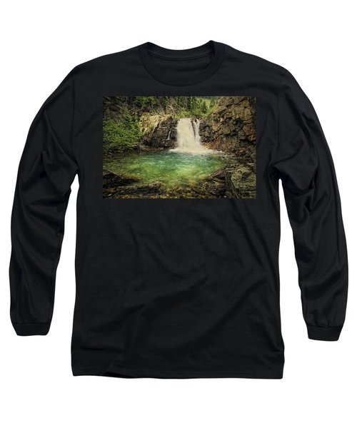 Long Sleeve T-Shirt featuring the photograph Glory Pool by Priscilla Burgers