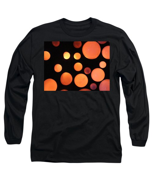Glowing Orange Long Sleeve T-Shirt