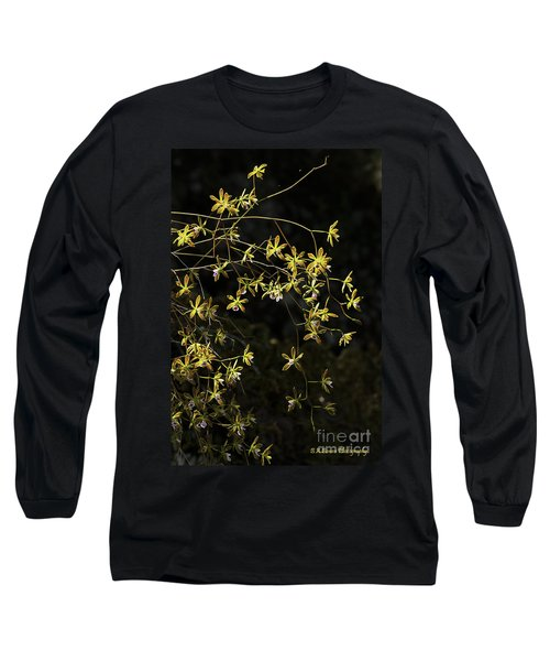 Glowing Orchids Long Sleeve T-Shirt