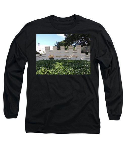Long Sleeve T-Shirt featuring the photograph Gmc Milledgeville by Aaron Martens