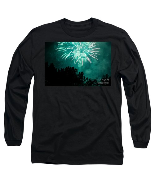 Long Sleeve T-Shirt featuring the photograph Go Green by Suzanne Luft