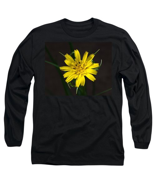 Goats Beard Flower Long Sleeve T-Shirt