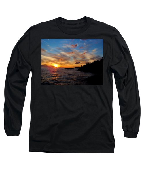 Long Sleeve T-Shirt featuring the photograph God's Morning Painting by Bonfire Photography