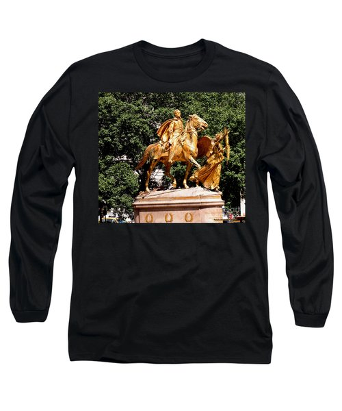 Long Sleeve T-Shirt featuring the photograph God's Protection by Luther Fine Art