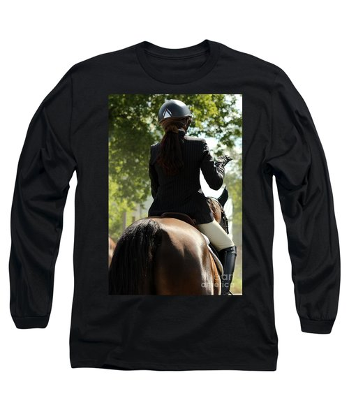 Going Over The Course Long Sleeve T-Shirt