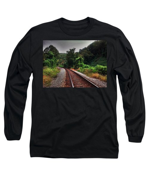 Long Sleeve T-Shirt featuring the photograph Going Somewhere by Janice Spivey