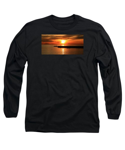 Gold Corona  Long Sleeve T-Shirt