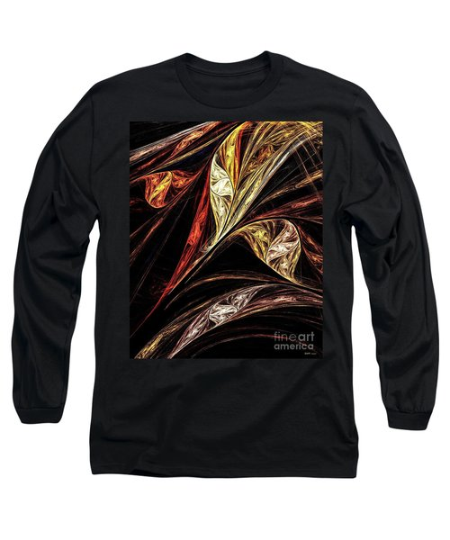 Gold Leaf Long Sleeve T-Shirt