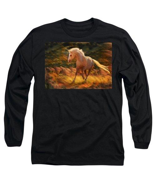 Golden Diva Long Sleeve T-Shirt