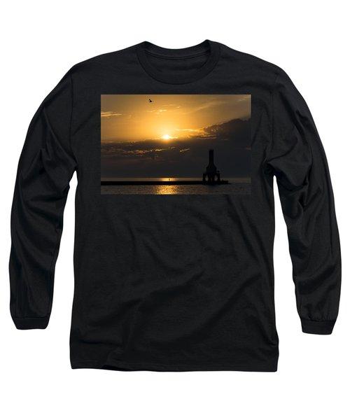 Golden Flight Long Sleeve T-Shirt
