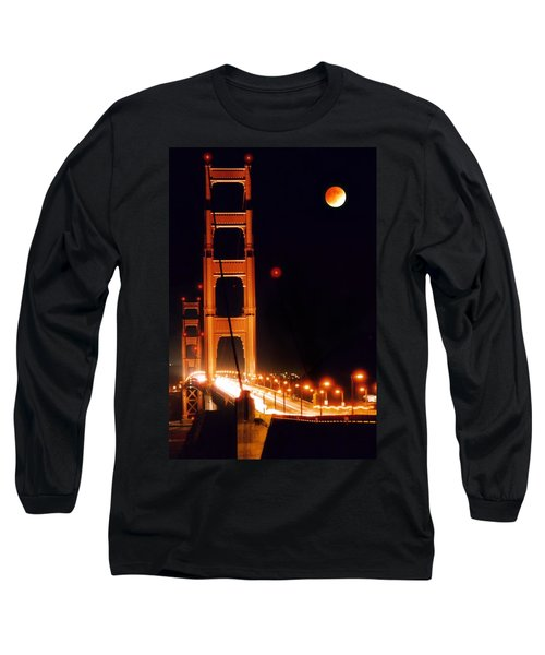 Golden Gate Night Long Sleeve T-Shirt