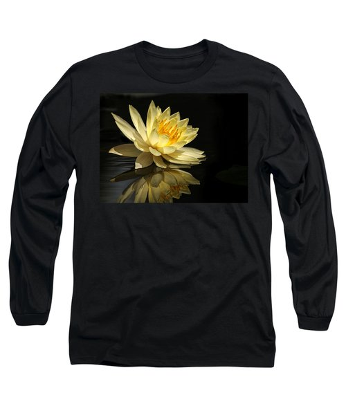 Golden Lotus Long Sleeve T-Shirt