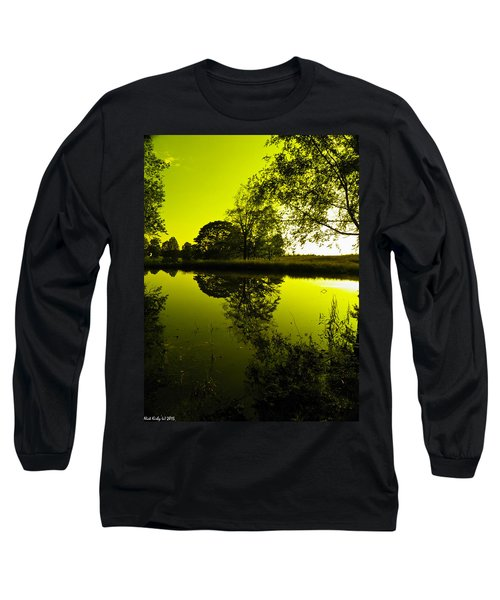 Golden Pond Long Sleeve T-Shirt by Nick Kirby