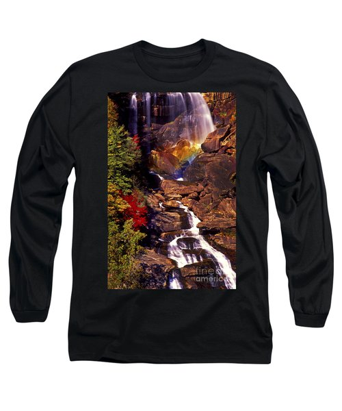 Golden Rainbow Long Sleeve T-Shirt by Paul W Faust -  Impressions of Light