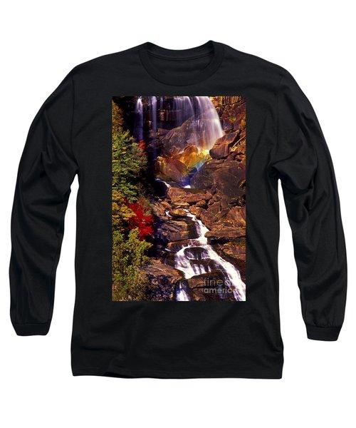 Golden Rainbow Long Sleeve T-Shirt