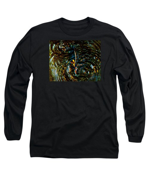 Golden Ripples Long Sleeve T-Shirt