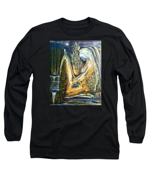 Golden Serenities Long Sleeve T-Shirt