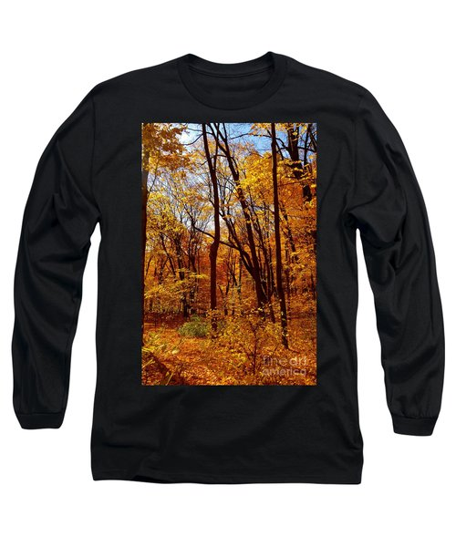 Golden Splendor Long Sleeve T-Shirt by Jacqueline Athmann