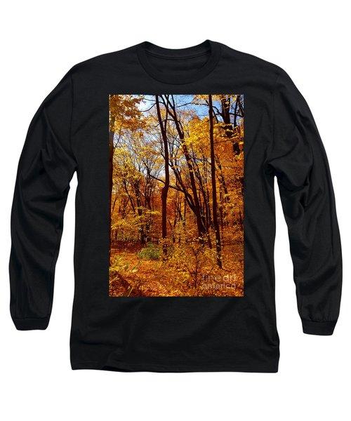 Golden Splendor Long Sleeve T-Shirt