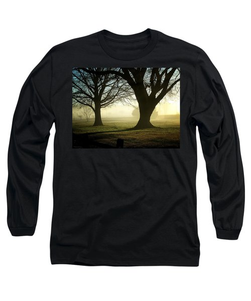 Long Sleeve T-Shirt featuring the photograph Golden Sunrise by Greg Simmons