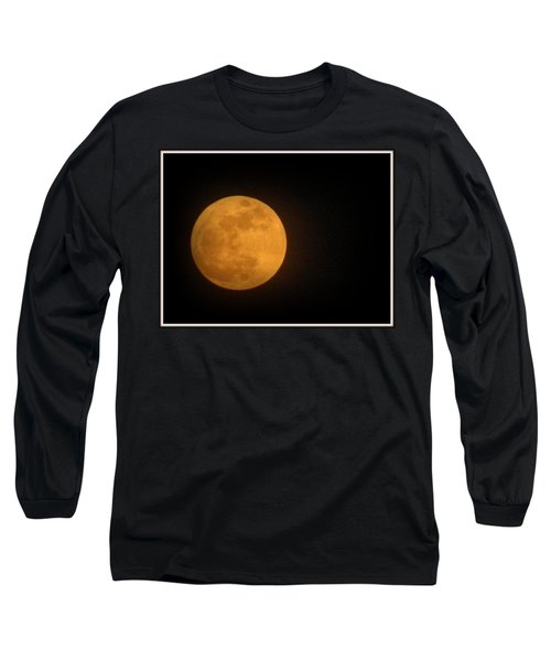 Golden Super Moon Long Sleeve T-Shirt