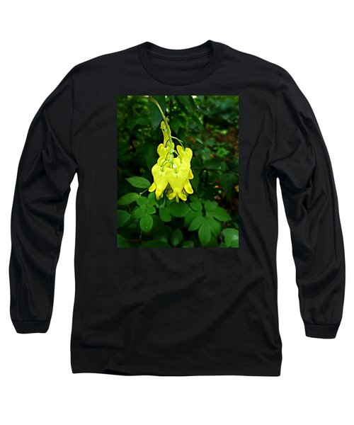 Golden Tears Vine Long Sleeve T-Shirt by William Tanneberger