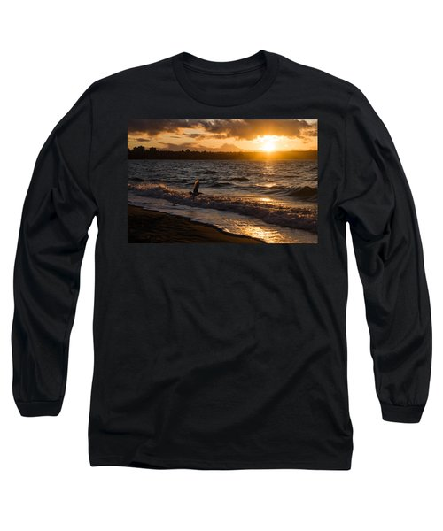 Golden Wings Golden Water Long Sleeve T-Shirt