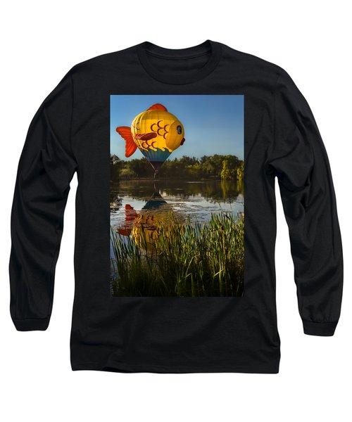 Goldfish Reflection Long Sleeve T-Shirt