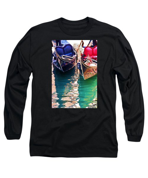 Gondola Love Long Sleeve T-Shirt by Brian Davis