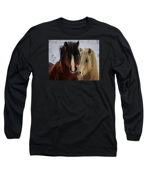 Good Friends Long Sleeve T-Shirt by Everet Regal