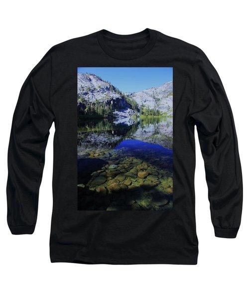 Good Morning Eagle Lake Long Sleeve T-Shirt