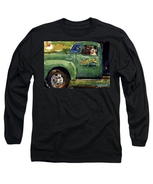 Good Ole Boys Long Sleeve T-Shirt by Molly Poole