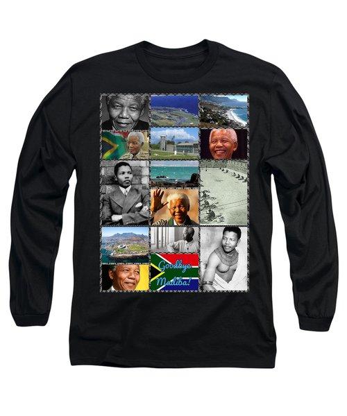 Goodbye Madiba Long Sleeve T-Shirt