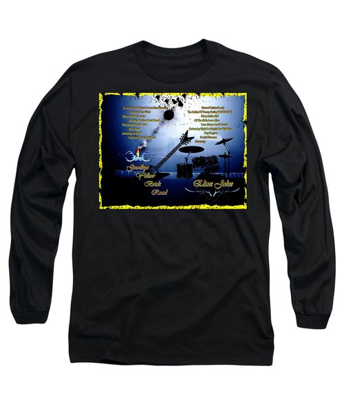 Goodbye Yellow Brick Road Long Sleeve T-Shirt by Michael Damiani