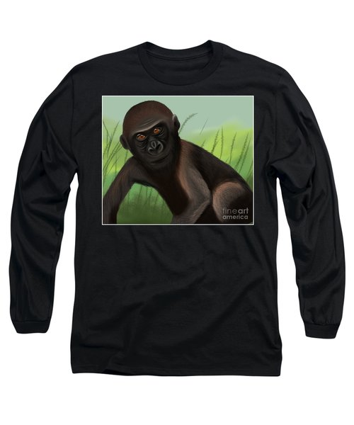 Gorilla Greatness Long Sleeve T-Shirt