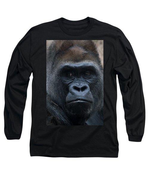Gorilla Portrait Long Sleeve T-Shirt