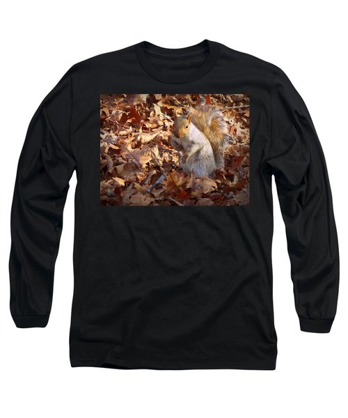 Got Nuts Long Sleeve T-Shirt by Joseph Skompski