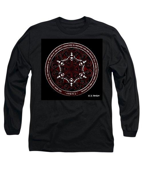 Gothic Celtic Mermaids Long Sleeve T-Shirt