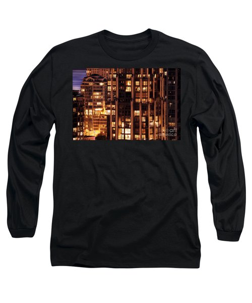 Long Sleeve T-Shirt featuring the photograph Gothic Living - Yaletown Ccclxxx by Amyn Nasser