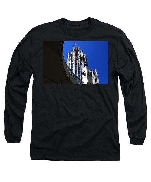 Gothic Tribune Tower Curve Long Sleeve T-Shirt