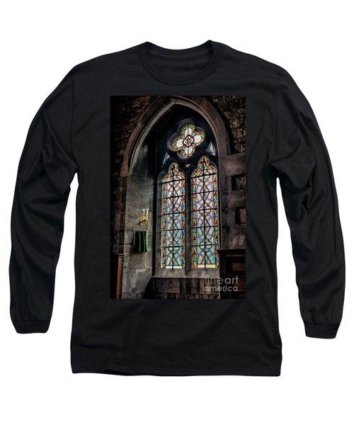 Gothic Window Long Sleeve T-Shirt