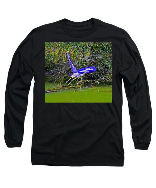 Gr8 Heron Flight Long Sleeve T-Shirt