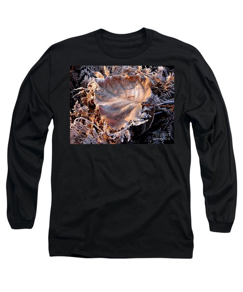 Graced By Frost Long Sleeve T-Shirt by Rory Sagner