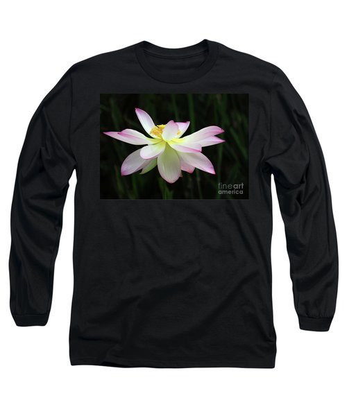 Graceful Lotus Long Sleeve T-Shirt