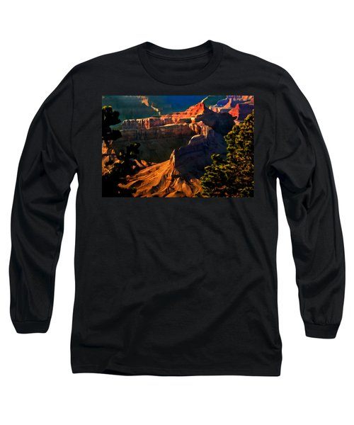 Grand Canyon At Sunset Long Sleeve T-Shirt