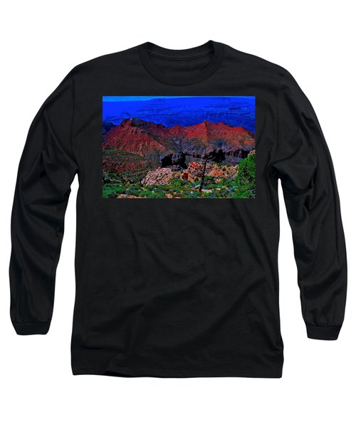 Grand Canyon Beauty Exposed Long Sleeve T-Shirt
