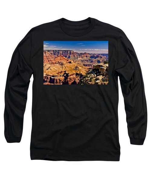 Grand Canyon Painting Long Sleeve T-Shirt