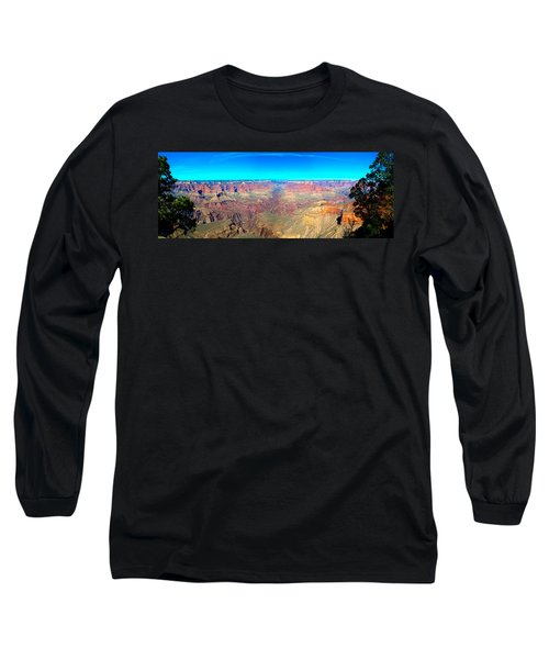 Grand Canyon Panorama Long Sleeve T-Shirt